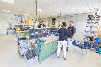 Werkstatt Sanitätshaus Wittlich