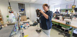 Einstellung der Prothese Sanitätshaus Wittlich