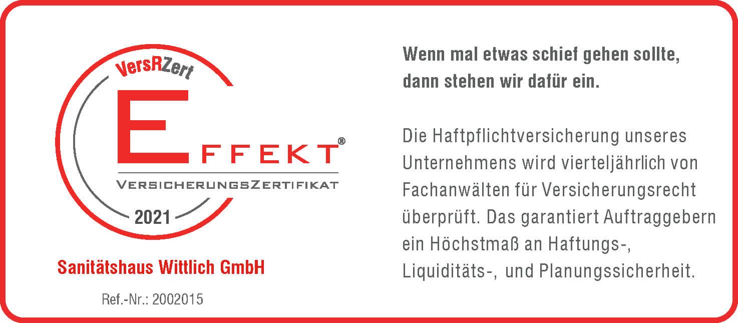 EFFEKT-VersRZert